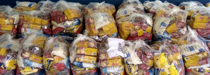 Distribuição de alimentação escolar durante a pandemia